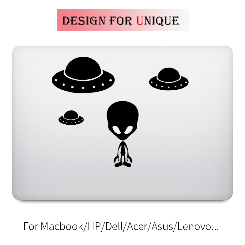 Alien UFO Laptop Decal Sticker for font b Apple b font font b Macbook b font