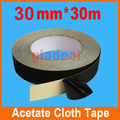 30mm*30m Black Acetate Cloth Tape Insulation Adhesive For iPhone LCD Touch Screen Tablet Electric Repair Tool