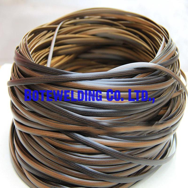Coffee gradient flat synthetic rattan weaving material plastic rattan 500g for knit and repair chair table synthetic rattan все цены