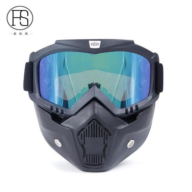 Military Tactical Airsoft-Maschera da sci con lenti di sicurezza, colore: verde oliva