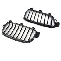 Car Front Center Grille Grills Black ABS For BMW F30 F31 3 Series 2012 2016 Automobile Car Part Accessories