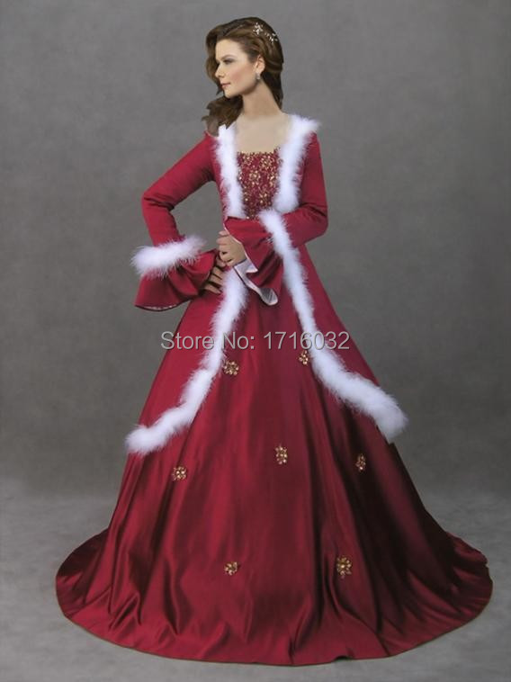 Winter Red Bridesmaid Dresses By Online 2017 Ball Gown Wedding For Church