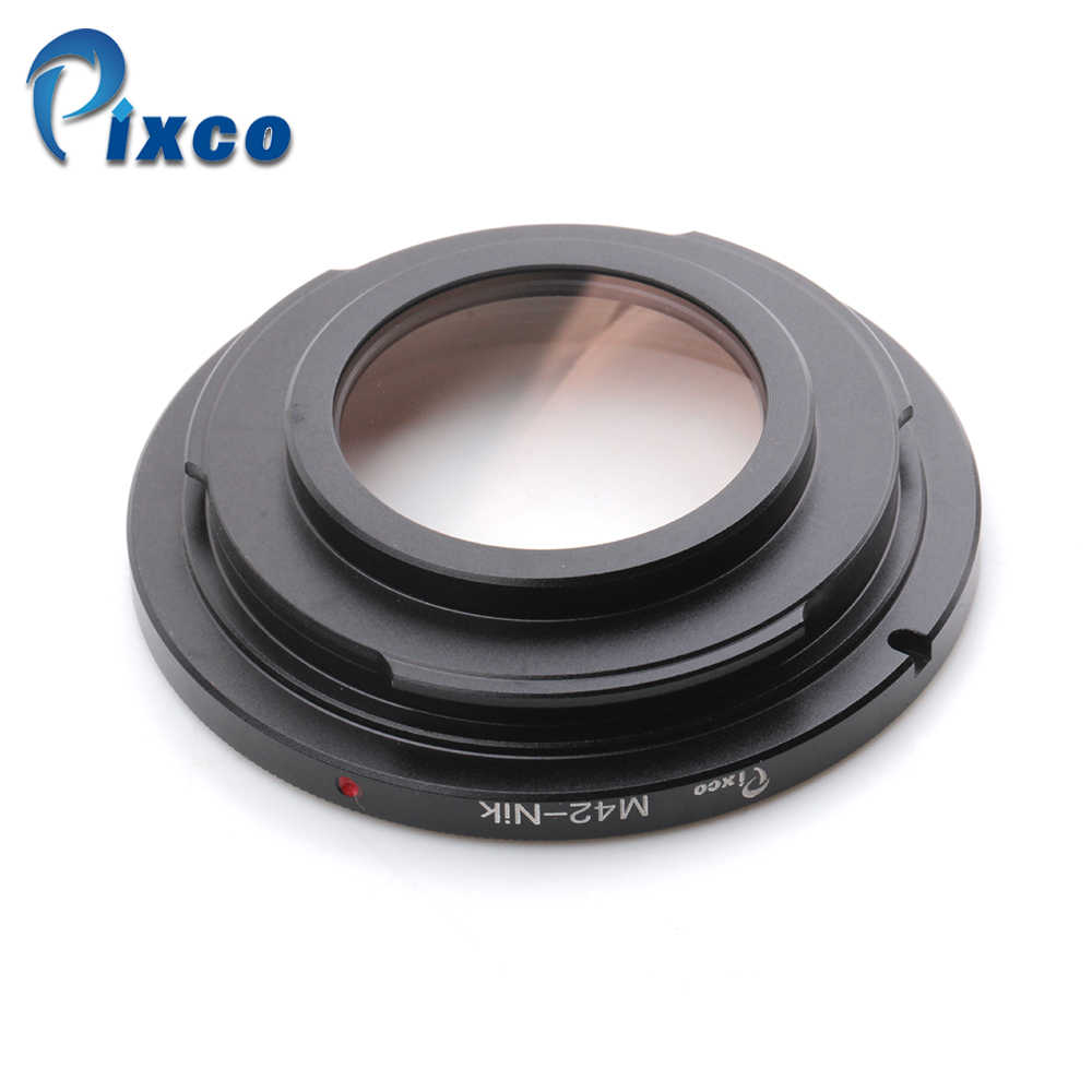 Pixco для M42-Nikon Focus Infinity Lens Adapter подходит для M42 Mount Lens to Suit For Nikon camera glass