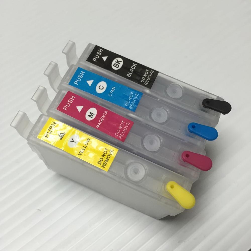 все цены на YOTAT Refillable ink cartridge T1291 T1292 T1293 T1294 for Epson Stylus SX230 SX235W SX420W SX425W SX430W SX435W SX438W SX440W онлайн