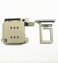 IPhone XR çift SIM kart okuyucu flex kablo + SIM kart tepsi tutucu yuvası adaptörü değiştirme