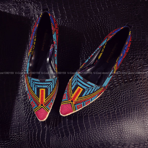 2017 Women Embroidered Shoes  brand Women Retro Embroidery Shoes Woman Espadrilles High Grade Woman Vintage Chaussure Femme
