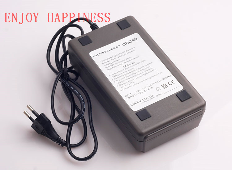 CDC40  Battery Charger For Sokkia Total Station Surveying Instruments samsung battery core sokkia topcon bdc70 li ion battery 7 2v 5240mah for total station gps