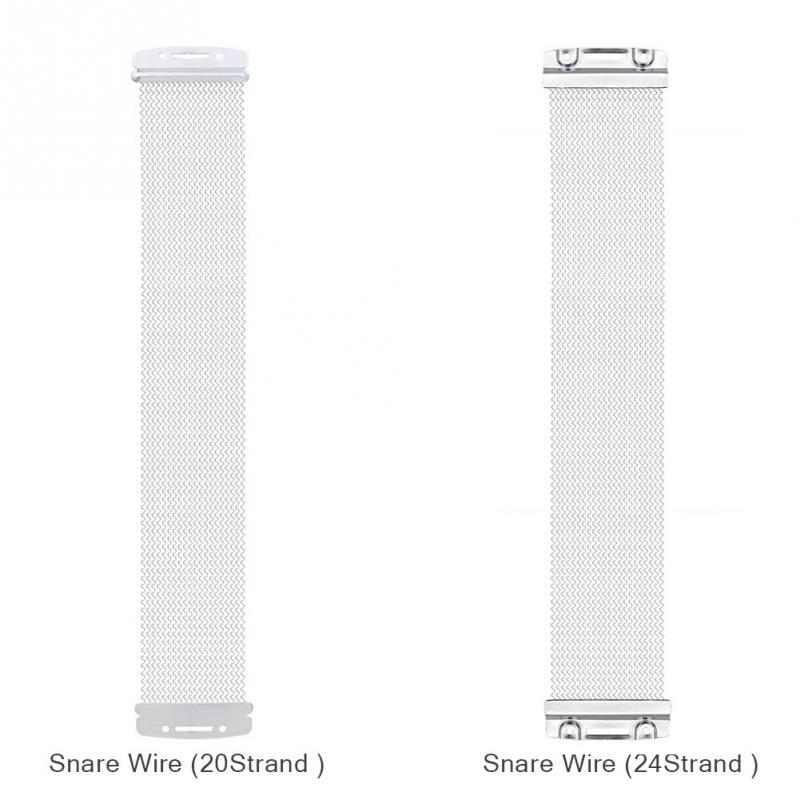 Steel Snare Wire 40 Strand for 14 Inch Snare Drum Cajon Box Drum ...