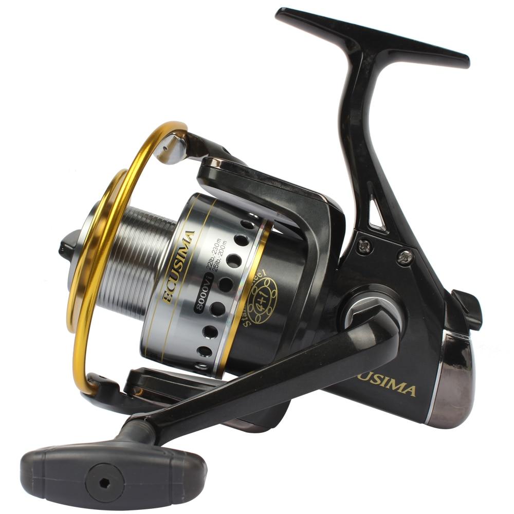 Ryobi ecusima fishing spinning reel 5 0 1 4bb 1rb for Ryobi fishing reel