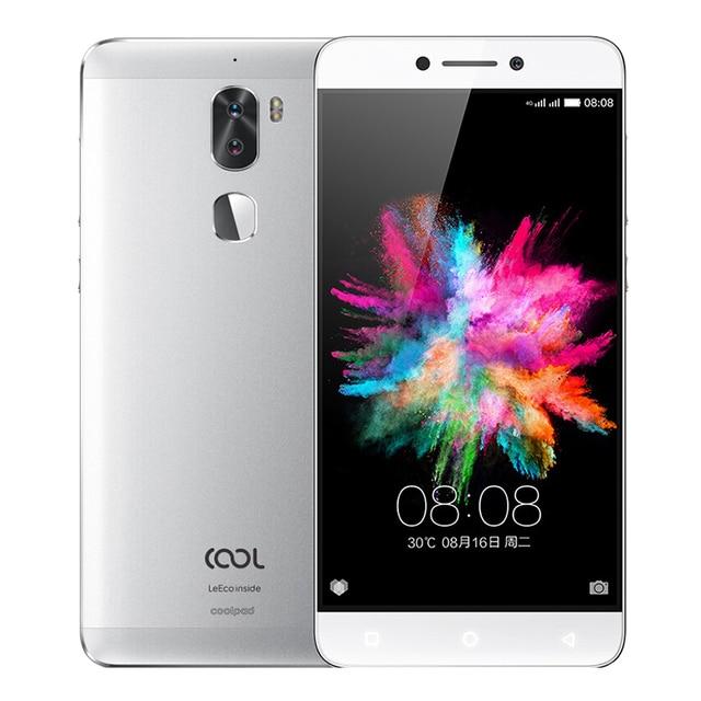 """Оригинальный LeEco cool1 3 г Оперативная память 32 г Встроенная память LeTV Прохладный 1 4 г LTE мобильный телефон Android 6.0 5.5 """"FHD две сзади Камера отпечатков пальцев ID"""