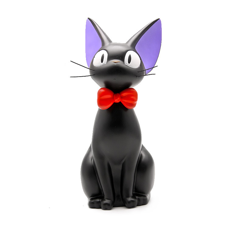 DIY Studio Ghibli Miyazaki Kiki's Delivery Service Kiki Cat PVC Action Figure Toys Piggy Bank Money Box Collection Model Toy kk 352 фигурка планета обезьян шамот 1171777