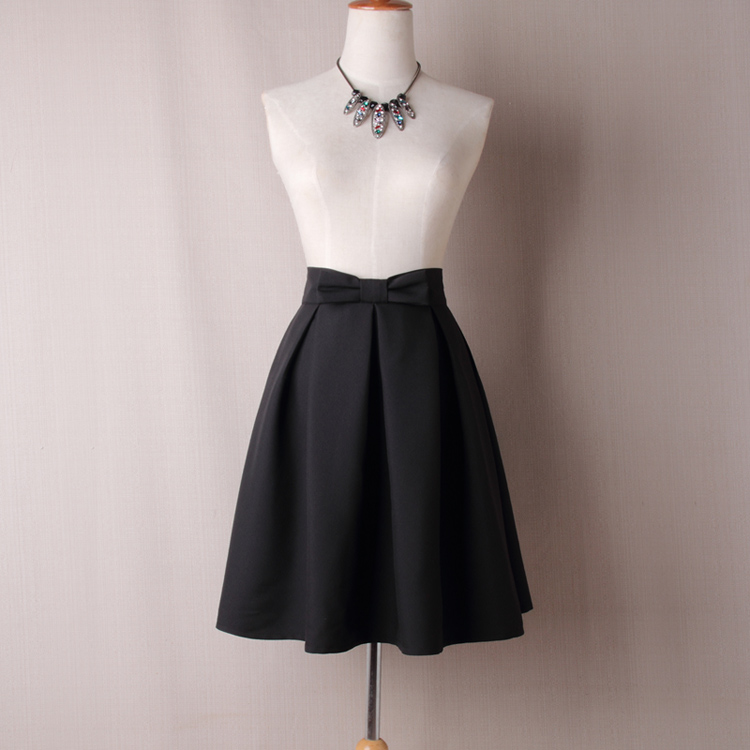 a530675841cac4 top 9 most popular black bow skirt brands and get free shipping ...