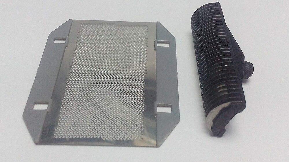 Barbeador Folha de Tela + Cortador de Lâmina para Panasonic ES9943 ES851 ES3050 ES3760 ES876 ES-3042 ES3750 ES3830 Peças de Reposição de Malha Net