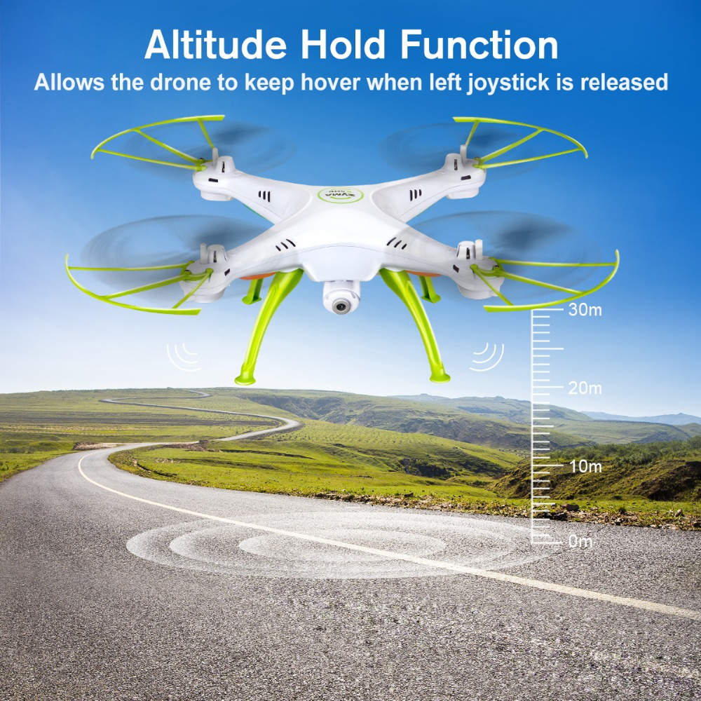 SYMA X5HW Drone With Camera HD Wifi FPV Selfie Drone Drones Quadrocopter RC Helicopter Quadcopter RC Dron Toy (X5SW Upgrade) 3