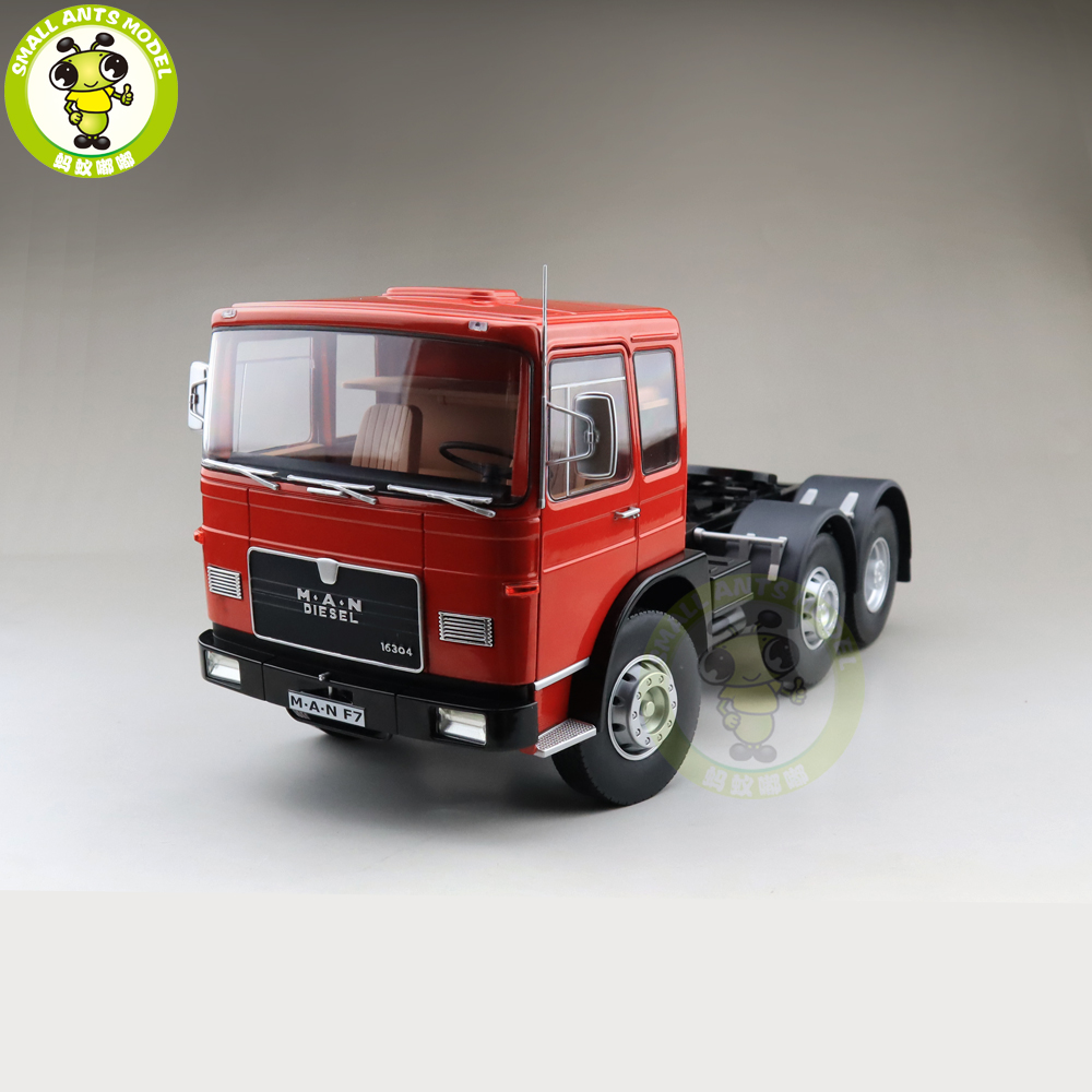 1 18 Man 16304 F7 Tractor Truck 1972 ROAD KINGS Diecast Car Truck Model Toys for
