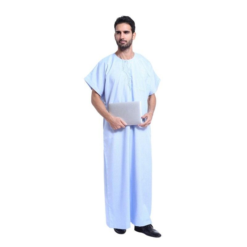 2017 Fashion Men Arab Kaftan Saudi Thobes