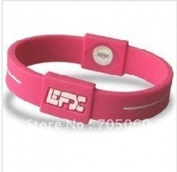2011 Top sale on aliexpress    Sport  silicone bracelet free shipping