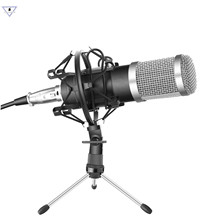 Wired Bm800 Zinc Alloy Dynamic Condenser Low Noise Microphone Sound Studio Mic For Singing Recording Professional Ktv Microphone metal 55sh microphone rose gold color vocal dynamic retro vintage mic 55 sh for mixer audio studio video singing recording