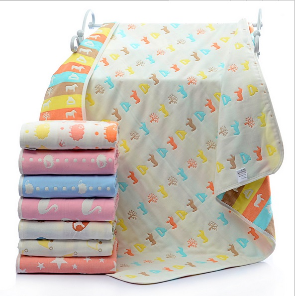 manta de beb recin nacido algodn orgnico suave manta swaddle mantas toalla de bao para beb