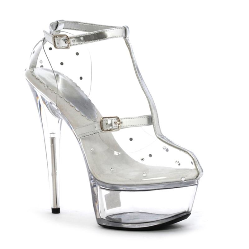 Popular Las Mujeres Tacones Frescos Para De Cargadores Transparente Claro Del Cm Modelo Los Etapa Con Sexy Zapatos Altos Plataforma 15 4TqSw4RWr