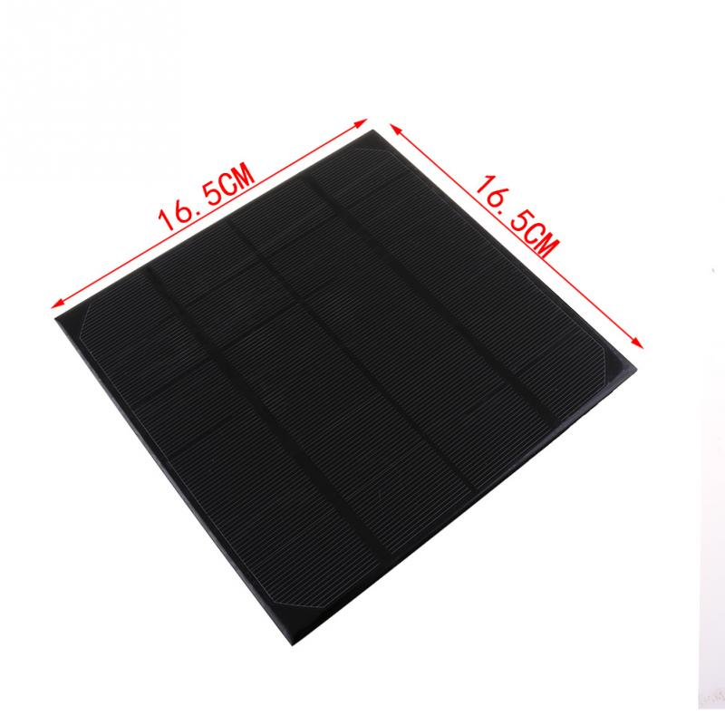 4.5W 6V Monocrystalline Silicon Solar Panel Is Suitable For All Kinds Of Outdoor Solar Electronic Products