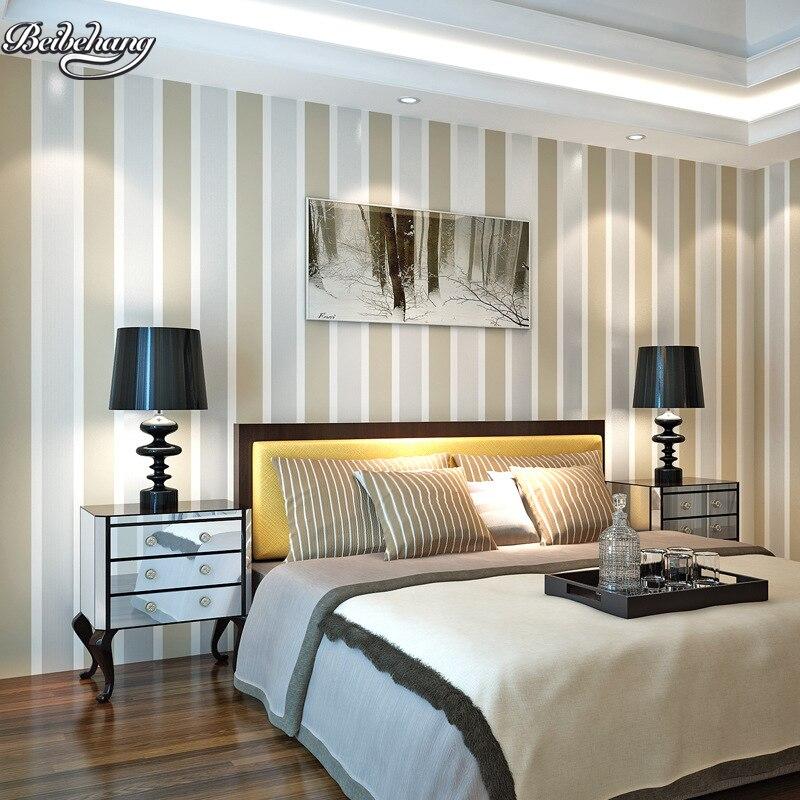 Aliexpress.com : Buy beibehang simple stripe wallpaper ...