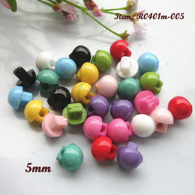 Mini buttons 144pcs 1   mixed color shank 5mm buttons little doll buttons  for diy sewing craft and scrapbooking accessories dc439485de27