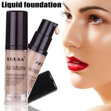 6ml Liquid Foundation Concealer Waterproof Full Cover Moisturizing Oil-control Contour Face Primer Makeups Cosmetic
