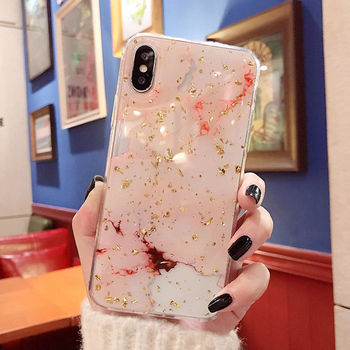 Best Marble Cover Case iPhone X