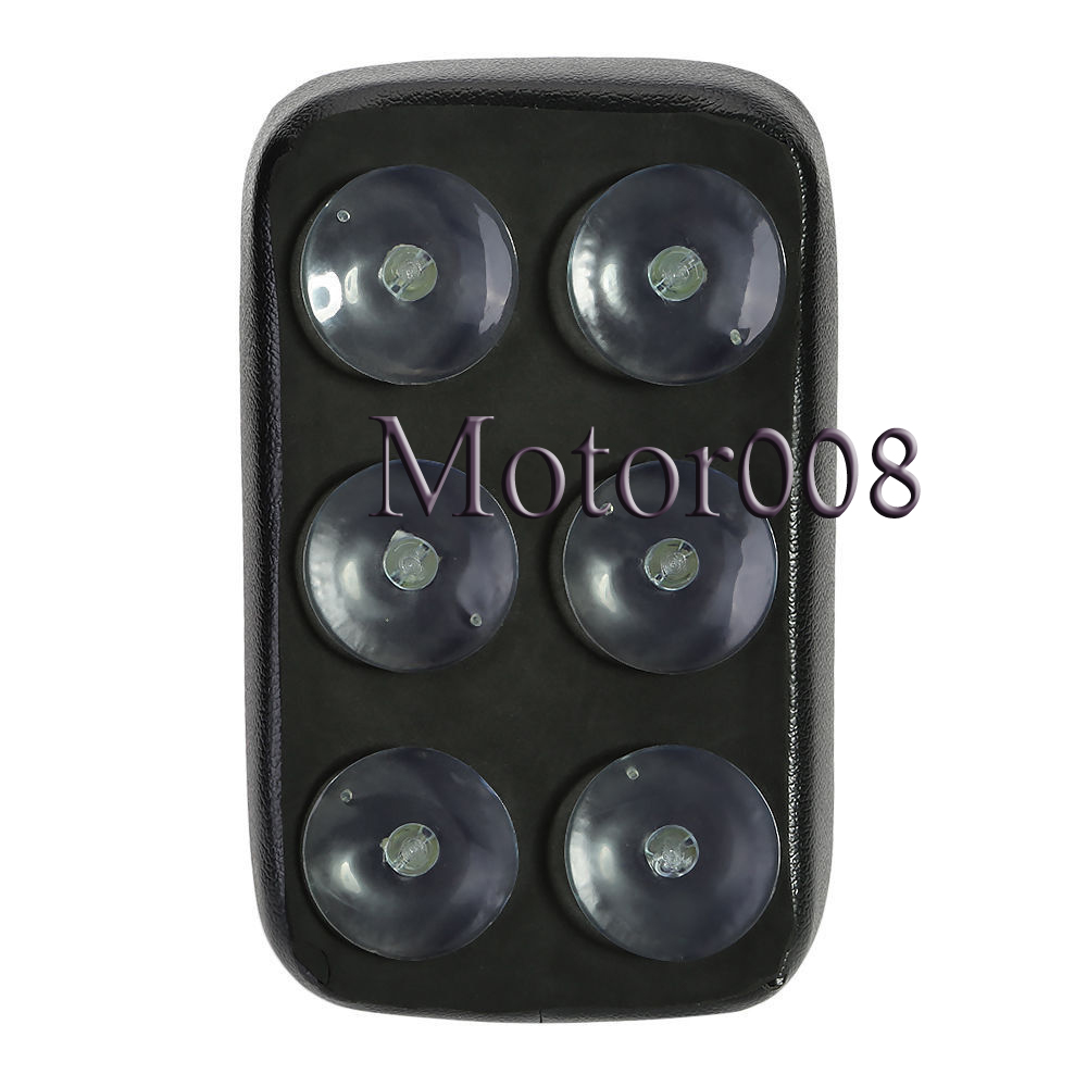 High Qulity Black Rear Fender Passenger Pillion Pad Seat 6 Suction Cup For Harley Softail Dyna Sportster Cruiser Custom