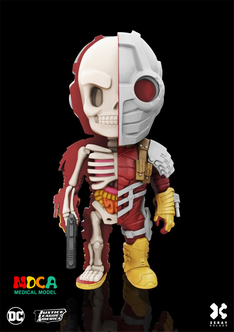 Death Shooter 4D XXRAY master Mighty Jaxx Jason Freeny anatomy Cartoon ornament cacti mighty 4d xxray master mighty jaxx jason freeny anatomy cartoon ornament