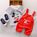 Free shipping 2017 new summer male tradechildrenset cotton short sleeved pants suit Mitch two 2pcs set