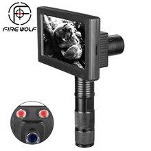Handheld visão noturna 850nm leds infravermelhos ir escopo câmeras ao ar livre 0130 impermeável wildlife armadilha câmeras a