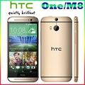"""El envío libre de htc m8 100% original htc one m8 teléfono con 5.0 """"pantalla Quad-core de Doble Cámara de $ NUMBER MP $ number MP WIFI GPS 4G LTE teléfono móvil"""