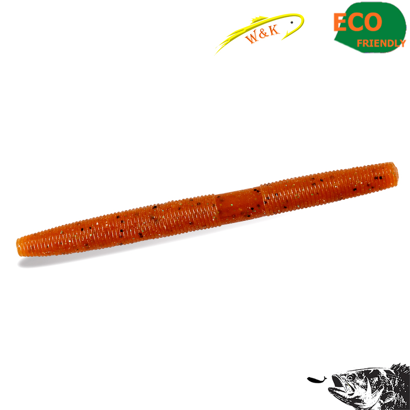 High salt worms for bass at 6 pcs per 4 senko worms berkley power honey worms bronze