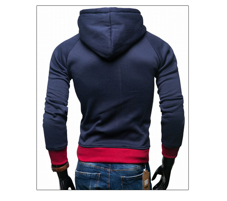 17 Hoodies Men Sudaderas Hombre Hip Hop Mens Brand Leisure Zipper Jacket Hoodie Sweatshirt Slim Fit Men Hoody XXL 14