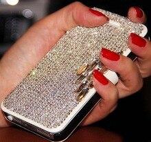 Bling алмазная флип кожаный кристалл обложка case capa для xiaomi mi 6 ми-6 плюс mi note 4x 5c 5S redmi 4а 4x примечание 4 4S coque fundas