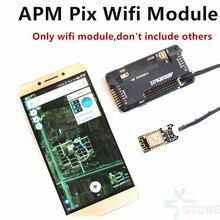 Apm pixhawk pix wifi sem fio módulo de substituição de 3dr rádio telemetria wifi para uart módulo para fpv quad multiplicador zangão