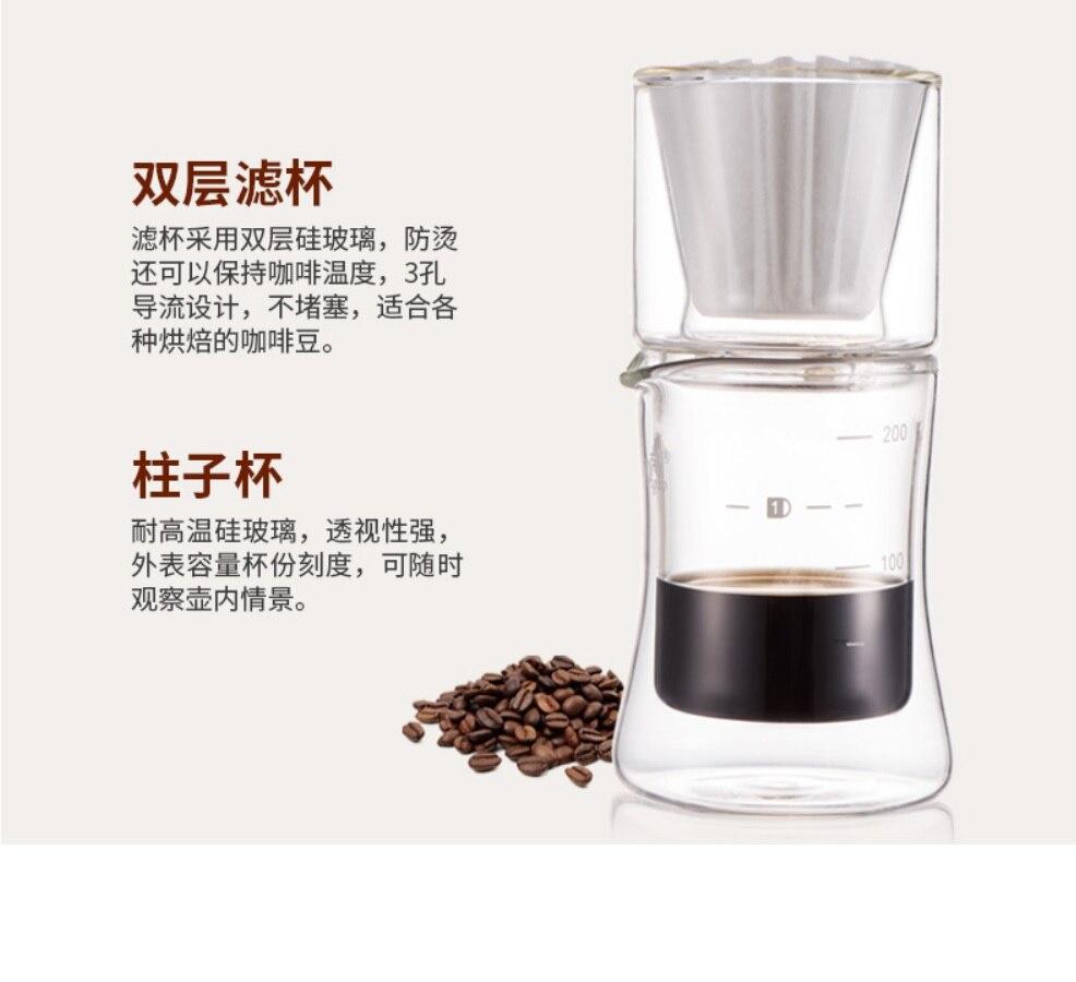 Wourmth 5 шт. высококачественный костяного фарфора кофейник, набор домашнего креативного керамического Пномпеня роскошный кофе чашка днем Под... - 5