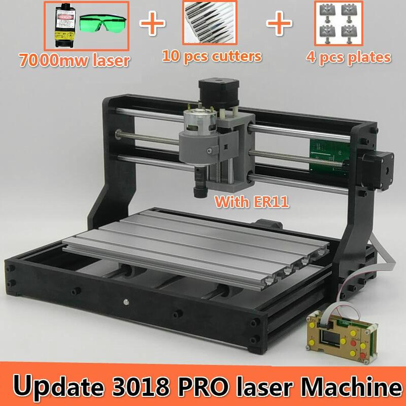 CNC 3018 Pro GRBL control Diy mini cnc machine 3 Axis pcb Milling machine Wood Router