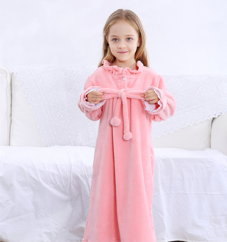 d5f2734f3d Family Pajamas Matching Mother Daughter Flannel Dresses Girls Nightgown  Outfits Mommy and Me Winter Clothes Mom Kids Sleepwear-in Matching Family  Outfits ...