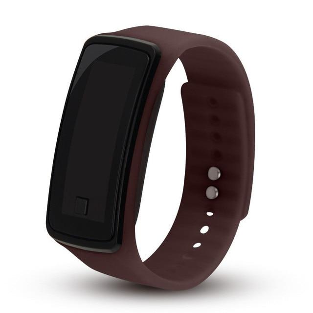 Sport hommes femmes montres Led Ceasuri Mujer Silicone montre numérique Reloj enfants femme mâle montre horloge femme hommes en gros