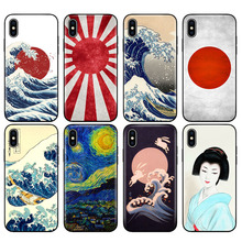 US $0.7 30% OFF|Black tpu case for iphone 5 5s se 6 6s 7 8 plus x 10 XR XS MAX case silicone cover japan sun japnese flags Vintage Painting-in Fitted Cases from Cellphones & Telecommunications on Aliexpress.com | Alibaba Group