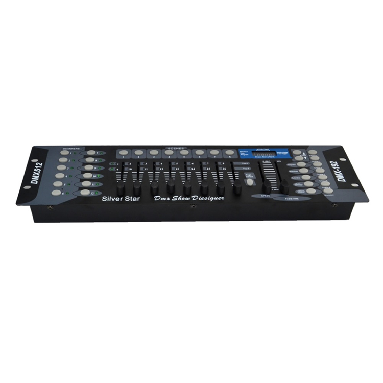 New Arrival 192 DMX Controller For Moving Head Light 192 Channels For DMX512 DJ Equipment Dj Disco Controller Console
