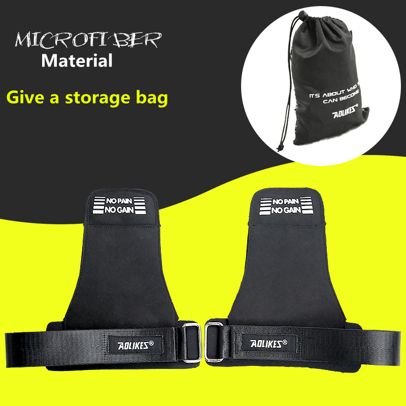 Sports font b fitness b font help protects wristband Weightlifting Strength Training Barbell Straps Wraps Hand