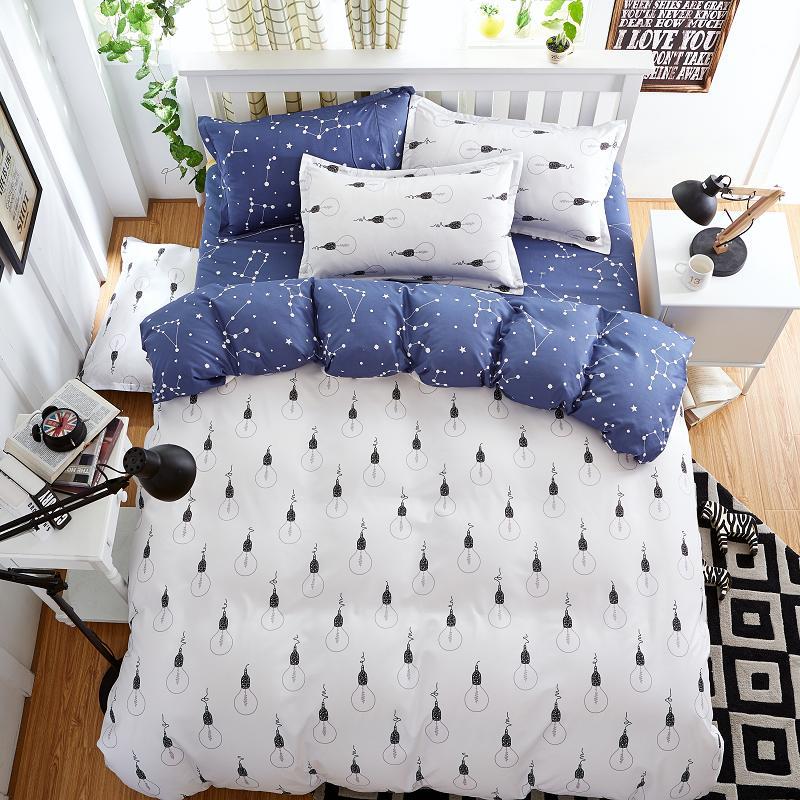 Textiles Para el hogar, A: Bombilla Estilo B: constelación patrón Sistemas del L