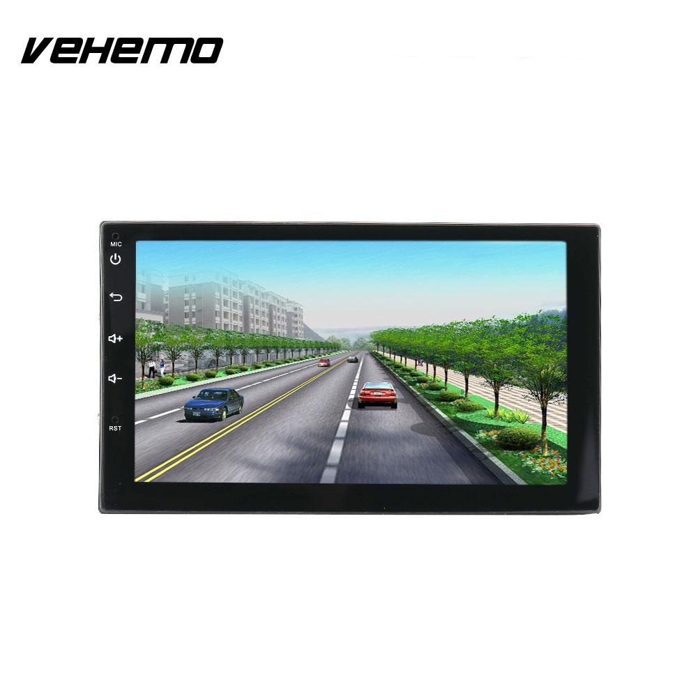 Vehemo Touch Screen Car MP5 AUX MP5 Player Premium Audio Video Player Radio Smart GPS garda decor компас