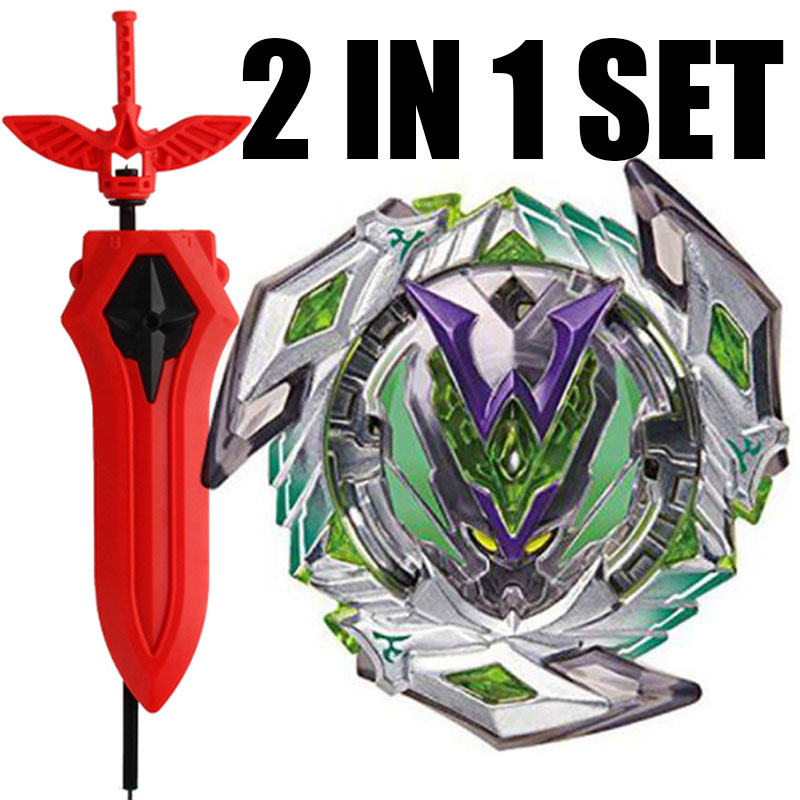 B-111 02 RARE Winning Valkyrie / Valtryek Burst Spinning Top BOOSTER Toy Kids With Sword Launcher(China)