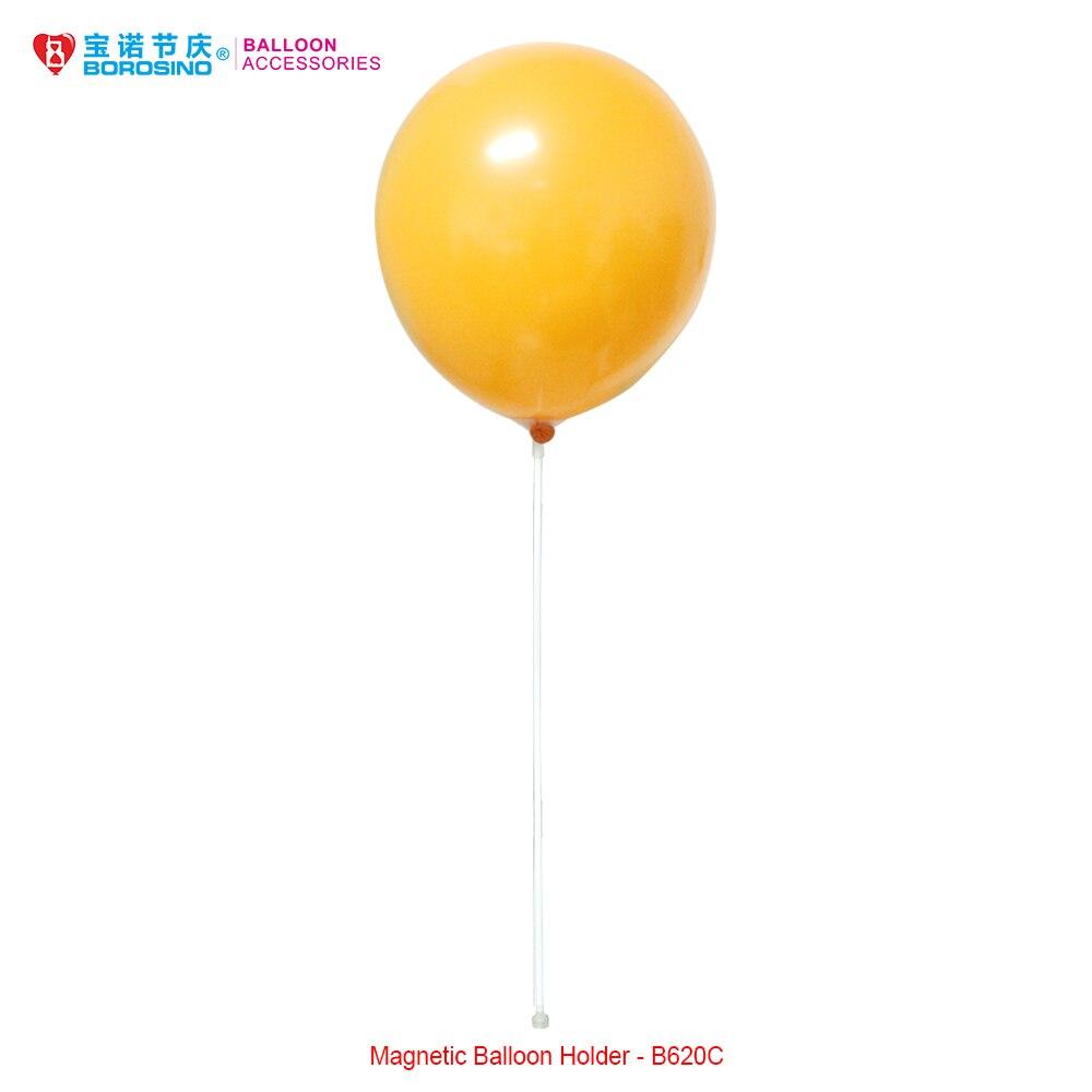 cfcac8a26f 10 pz/borsa Spedizione Gratuita Mini Rotondo Magnetico Balloon Holder con  Palloncino Bastone e la Tazza