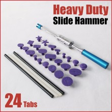 pdr hammer paintless dent repair kit glue tabs sticks slide puller lifter car body hand tools automotive bodywork remove dents auto body tools dent puller kit spotter stud welder spot welding gun washer chuck holder car bodywork dent repair automotive
